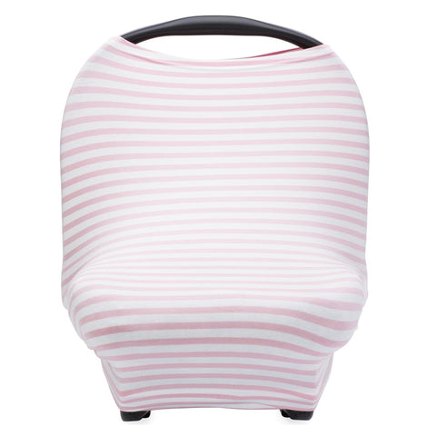 Multi-use Cover, White/Pink Stripes