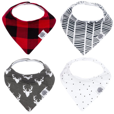 Lumberjack Bandana Bib Set - The Good Baby