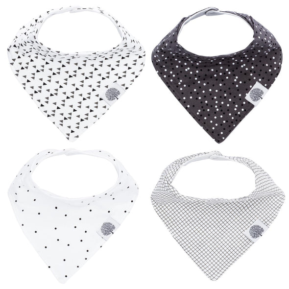 Shadow Bandana Bib Set - The Good Baby