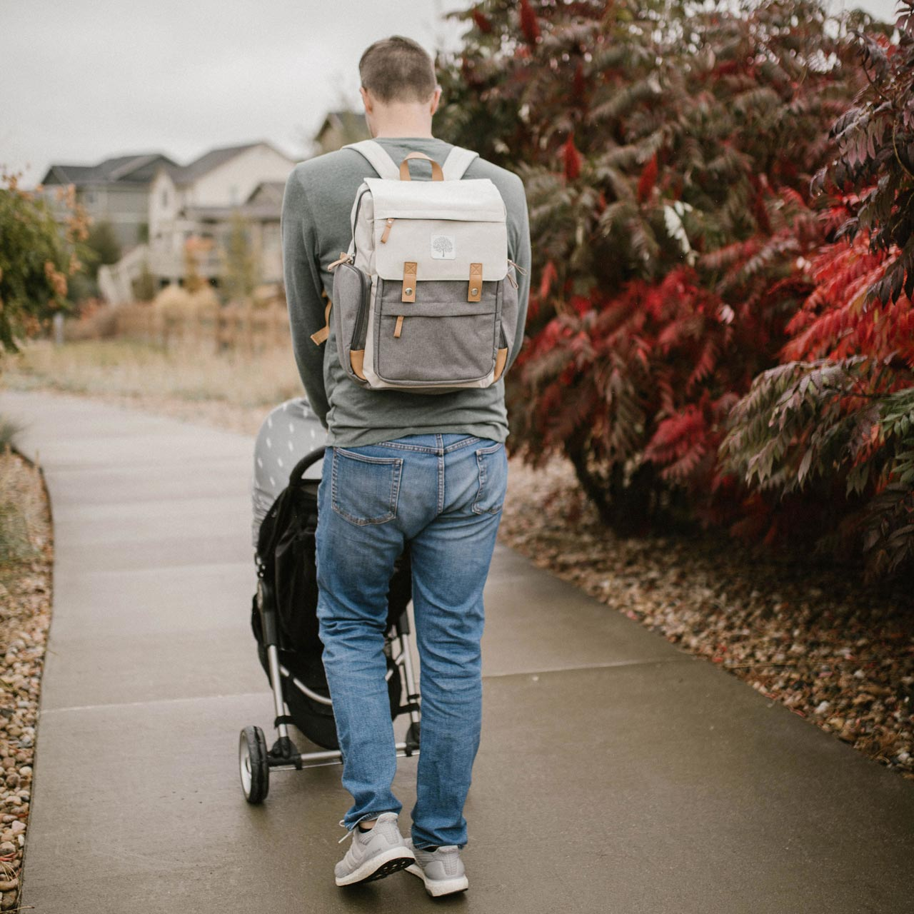 66ad0b4cd4 Diaper Backpack | Birch Bag - Cream | Parker Baby Co. | Parker Baby Co.
