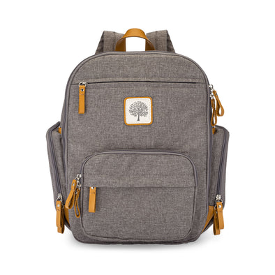 Birch Bag Mini Diaper Backpack in Gray.