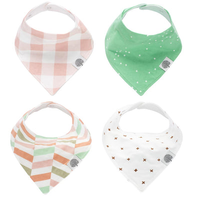 Lincoln Bandana Bib Set - The Good Baby