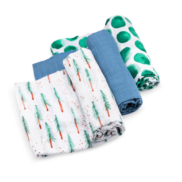 Timber Swaddle Set - The Good Baby
