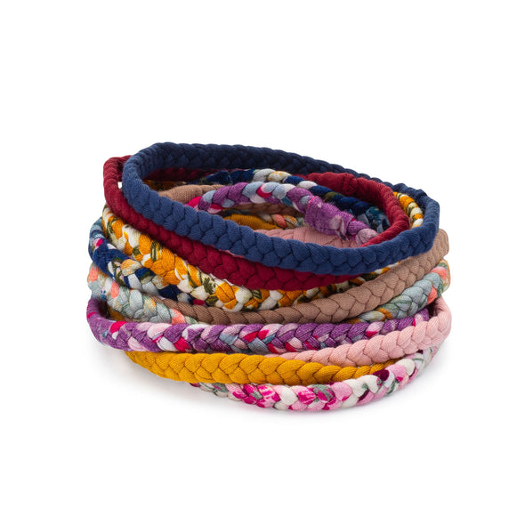 Marigold Set - Braided Headbands - 10 Pack