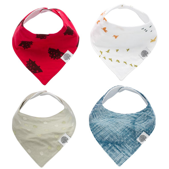 Parker Bandana Bib Set - The Good Baby