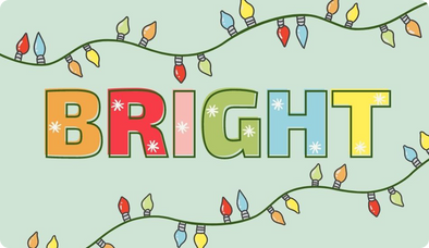 Holiday Gift Card - Bright