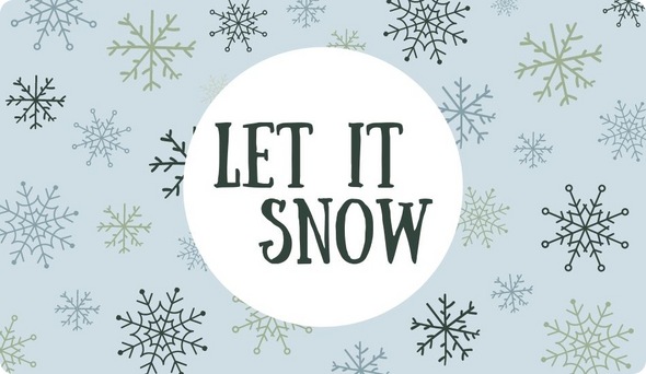 Holiday Gift Card - Snow