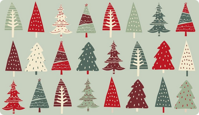 Holiday Gift Card - Trees
