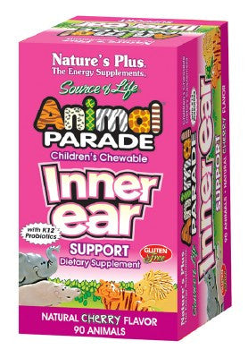 Nature's Plus Animal Parade Inner Ear Support 90 Tabs