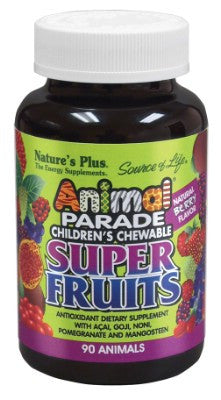 ANIMAL PARADE SUPER FRUITS CHEWABLE 90