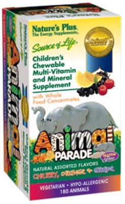 Nature's Plus Animal Parade Assorted 180
