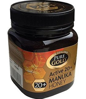 Pure Gold Manuka Honey Blended Active 20+ - 250g