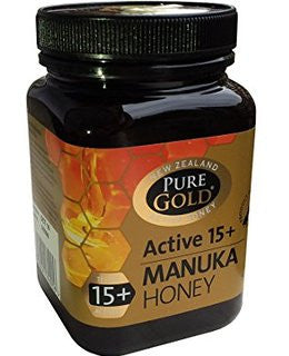 Pure Gold Manuka Honey Blended Active 15+ 250g