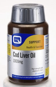 QUEST COD LIVER OIL 1000MG 90 TABS