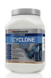 !!! PROMOTION !!! WAS 43.99 Cyclone Banana Muscle & Size 1.2kg /20 servings/