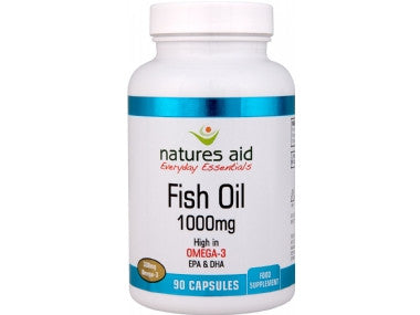 Nature's Aid Omega-3 Fish Oil 1000mg