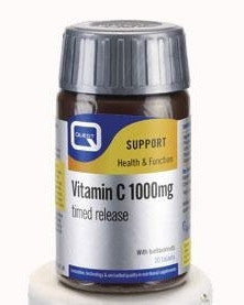 QUEST 50% EXTRA FREE VITAMIN C TIMED RELEASE WITH BIOFLAVONOIDS 90 TABS FOR THE PRICE OF 60
