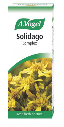 Solidago, birch and other herbs