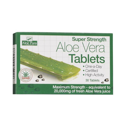 Aloe Pura Super Strength Aloe Vera 6os