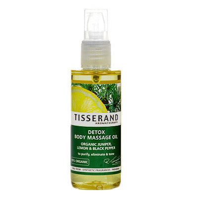 Tisserand Detox body massage oil
