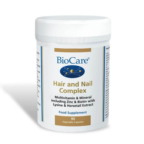 BioCare Hair And Nail Complex 90 Capsules