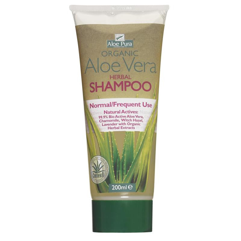 Aloe pura Org. Herbal Shampoo 200ml