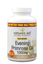 NATURES AID EVENING PRIMROSE OIL 1000MG - 180 CAPS