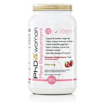 PhD Woman Meal Replacement Strawberry 770g