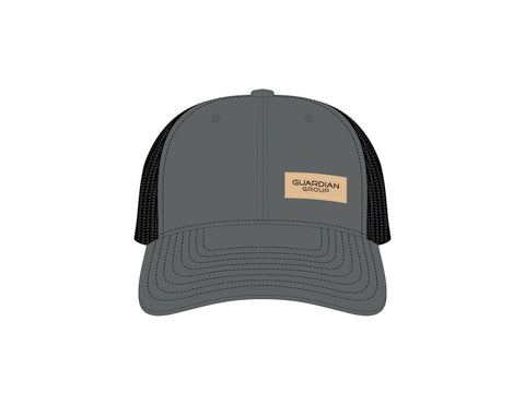 Trucker Cap: Charcoal/Black