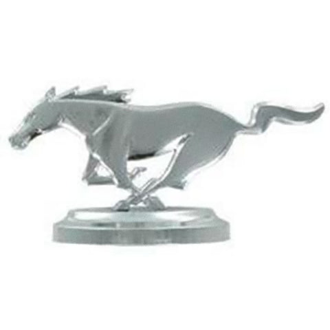 Ford Mustang Cast Iron Table Top Grill Emblem Statue
