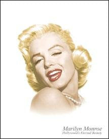 "Tin Sign ""Marilyn Monroe - Eternal Beauty""- Made In The USA"