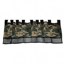 Set of 2 Camoflauge Window Valances Curtain Camo Home Decor Boys Room Army
