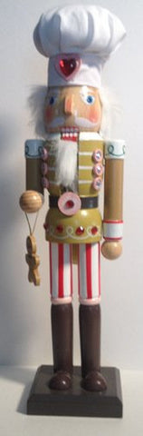 Decorative Gingerbread Man - Cookie Baker - Nutcracker 15""