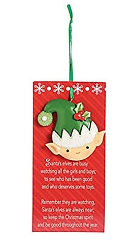 Legend of the Elf Christmas Ornament - Elf on the Shelf