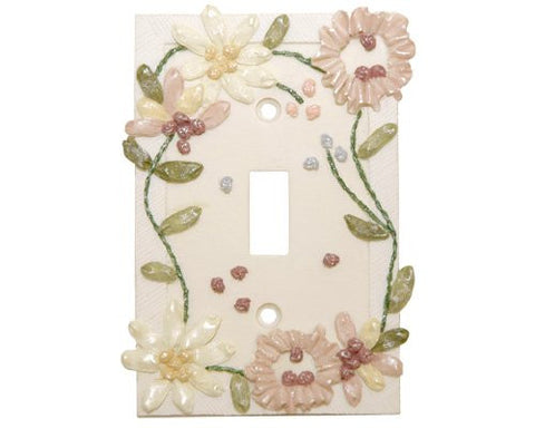 Wallpaper Borders Unlimited Borders Unlimited Accessories Floral Chain Single Switch Plate 702
