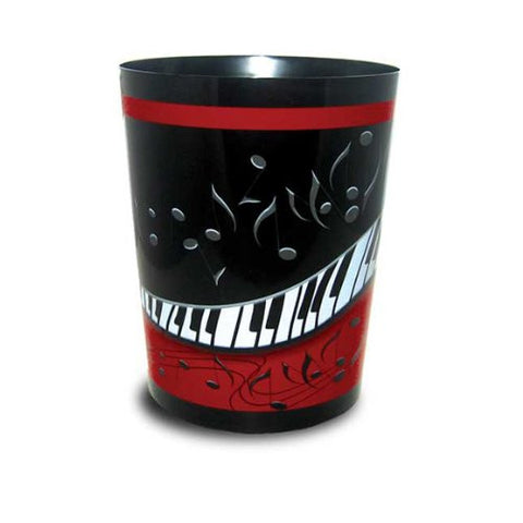 Music Treasures Jazzy Music Keyboard Wastebasket