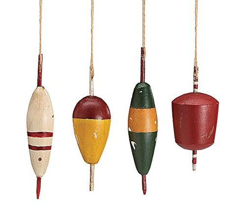 Fishing Lure Assorted Ornaments - Lodge Decor - Rustic - Primitive