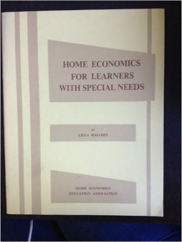 Home Economics for Learners With Special Needs