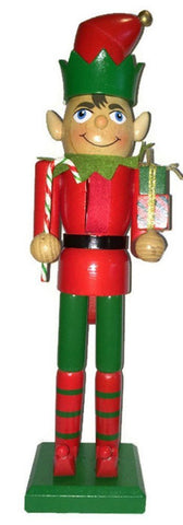Decorative Elf - Santa's Helper - Nutcracker 15""