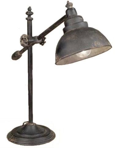 Vintage Adjustable Swing-Arm Task Lamp