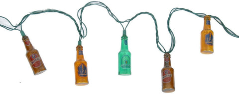 DEI Beer Bottle String Lights - Colorful 8.5 feet of fun party decorative lights