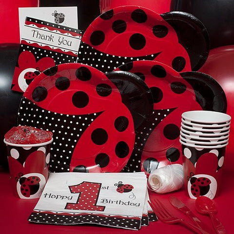 Fancy Ladybug - Party Pack for 8