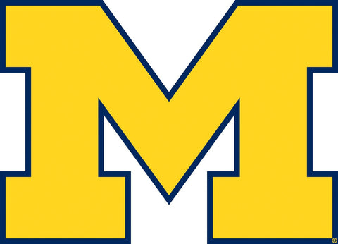 University of Michigan Giant Peel and Stick Wall Decals