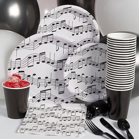 Music Note - Party Pack - Musical Birthday Party Supplies