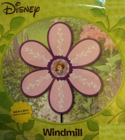 Disney Decorative Garden Windmill (Sofia the First)