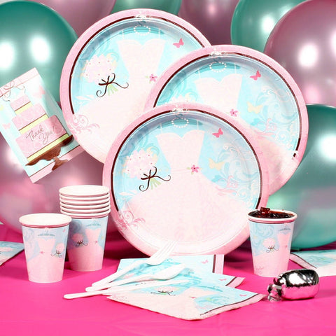 Something Blue - Party Pack - Bridal Shower Party Supplies