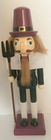 Decorative Pilgrim Nutcracker 10 1/2""