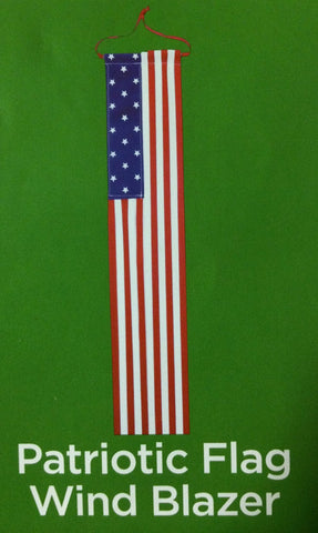 Patriotic Flag Wind Blazer - Indoor or Outdoor - 25 Inches Long