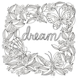 Color Your Decal - Dream & Imagine - Color - Peel - Stick - Create Your Own Art