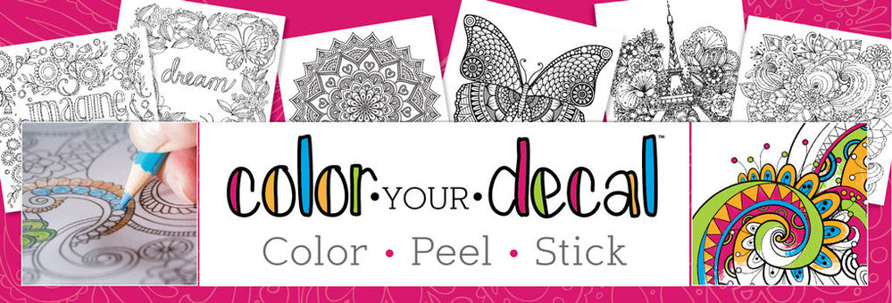 Shop Our Color Your Own Wall Decals
